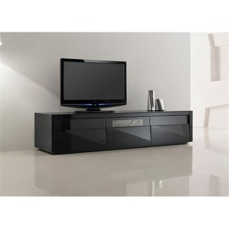 Brand new diamond high gloss polyurethane lowline tv entertainment unit