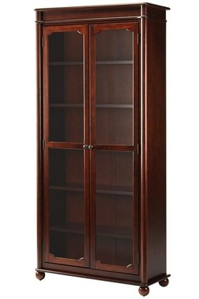super popular 4edaa 42450 Cherry Bookcase With Doors - Ideas on Foter