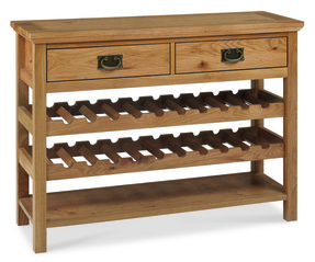 Console Table With Wine Rack 3