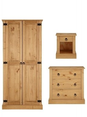 Corona mexican pine bedroom furniture
