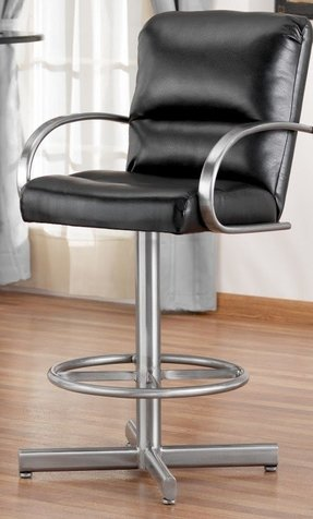 bar stools with arms and swivel foter