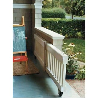 Deck gates for pets 1