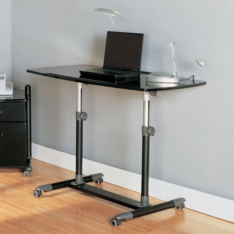 computer desks with wheels ideas on foter rh foter com computer desk on wheels canada computer desk on wheels australia