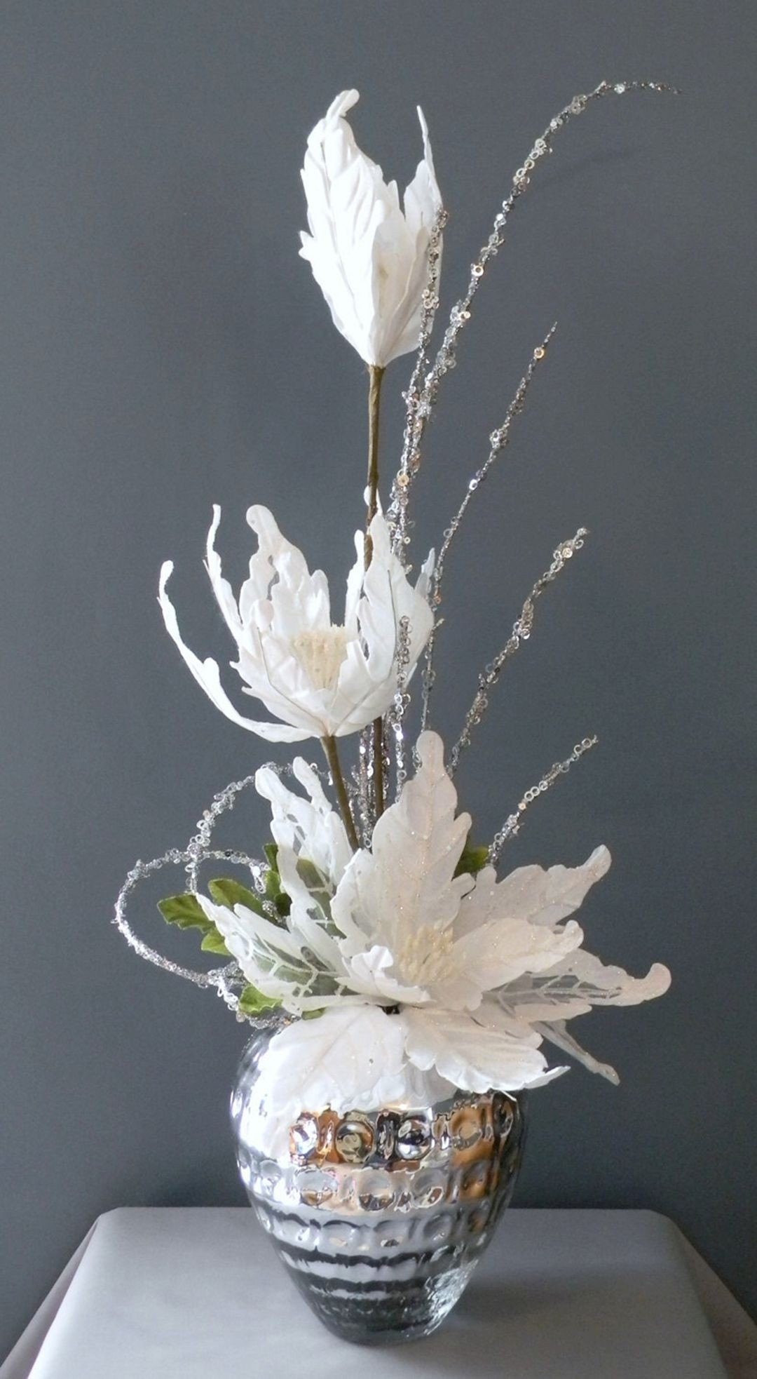Elegant winter bouquet christmas floral
