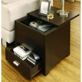 End table storage