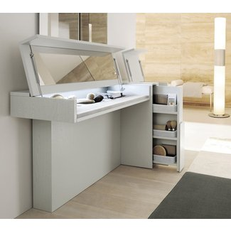 Flip Top Vanity Table Foter
