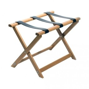 Folding luggage stand