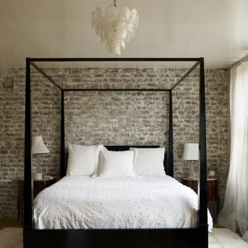 Four post canopy bed frame 1 & Black Four Poster Bed - Foter