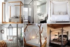 Great Canopy Bed Frame Decor