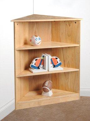 gift mark 36 corner bookcase - Corner Bookshelves