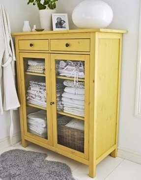 Glass front storage cabinet 2