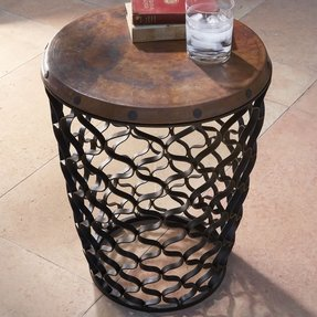 Global views small arabesque end table 1