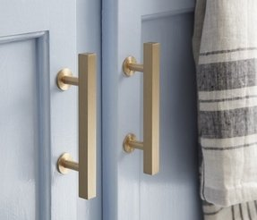 Gold cabinet knobs 7