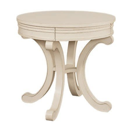 Hgtv Home Furniture Collection Skylar End Table In Topsail