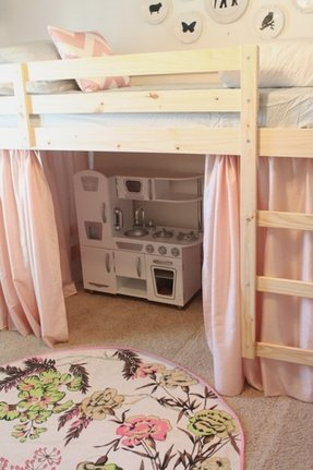 Bunk Bed With Slide And Tent Foter