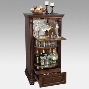 Howard Miller 695 078 Cognac Wine Bar Cabinet
