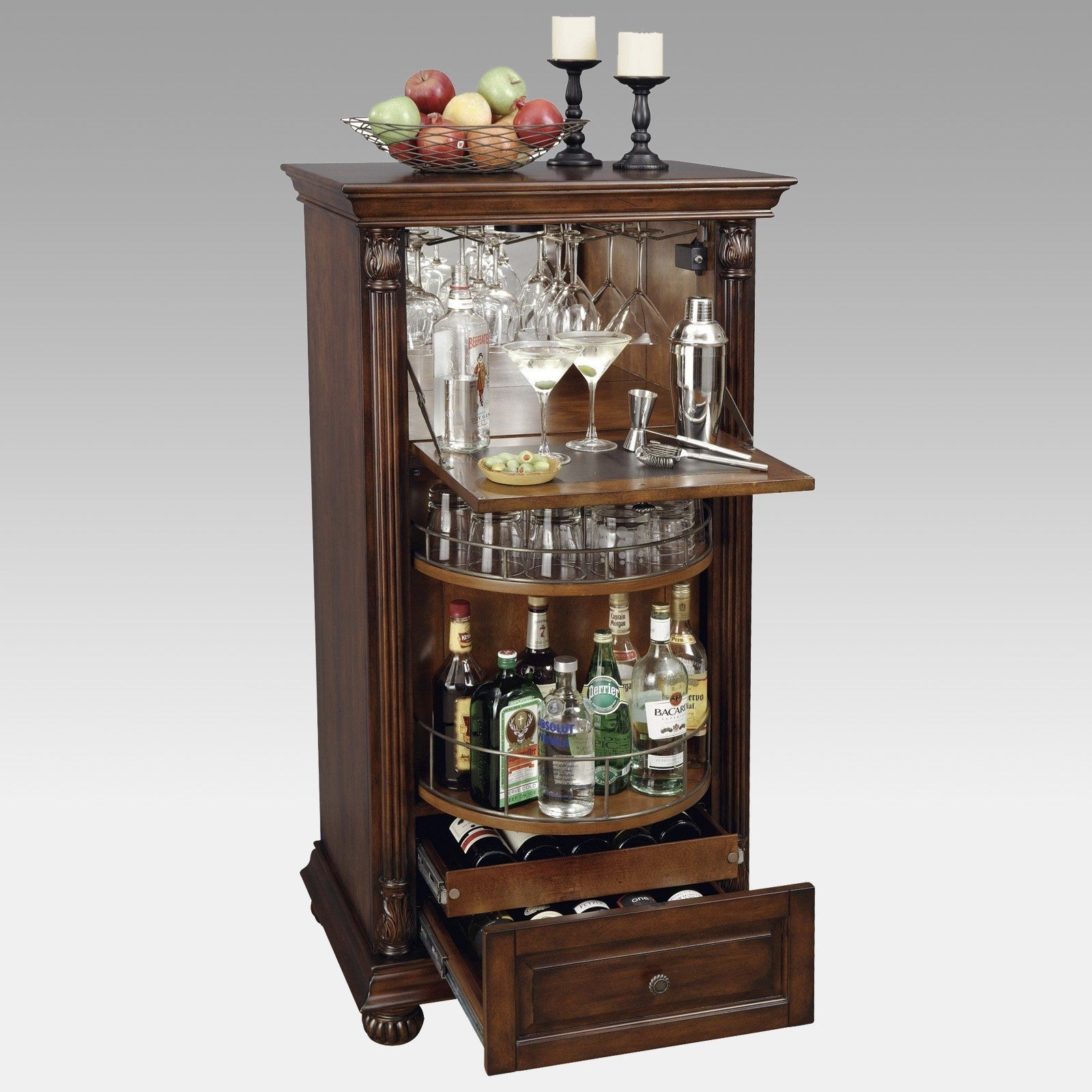 Howard Miller 695 078 Cognac Wine U0026 Bar Cabinet