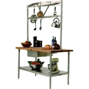 John Boos Cucina Grandioso Kitchen Table 48X24 Gra02c