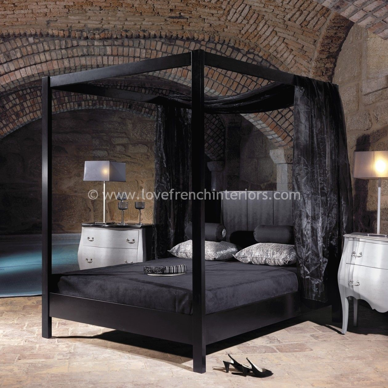 King 4 poster bed & Four Poster King Bed Frame - Foter