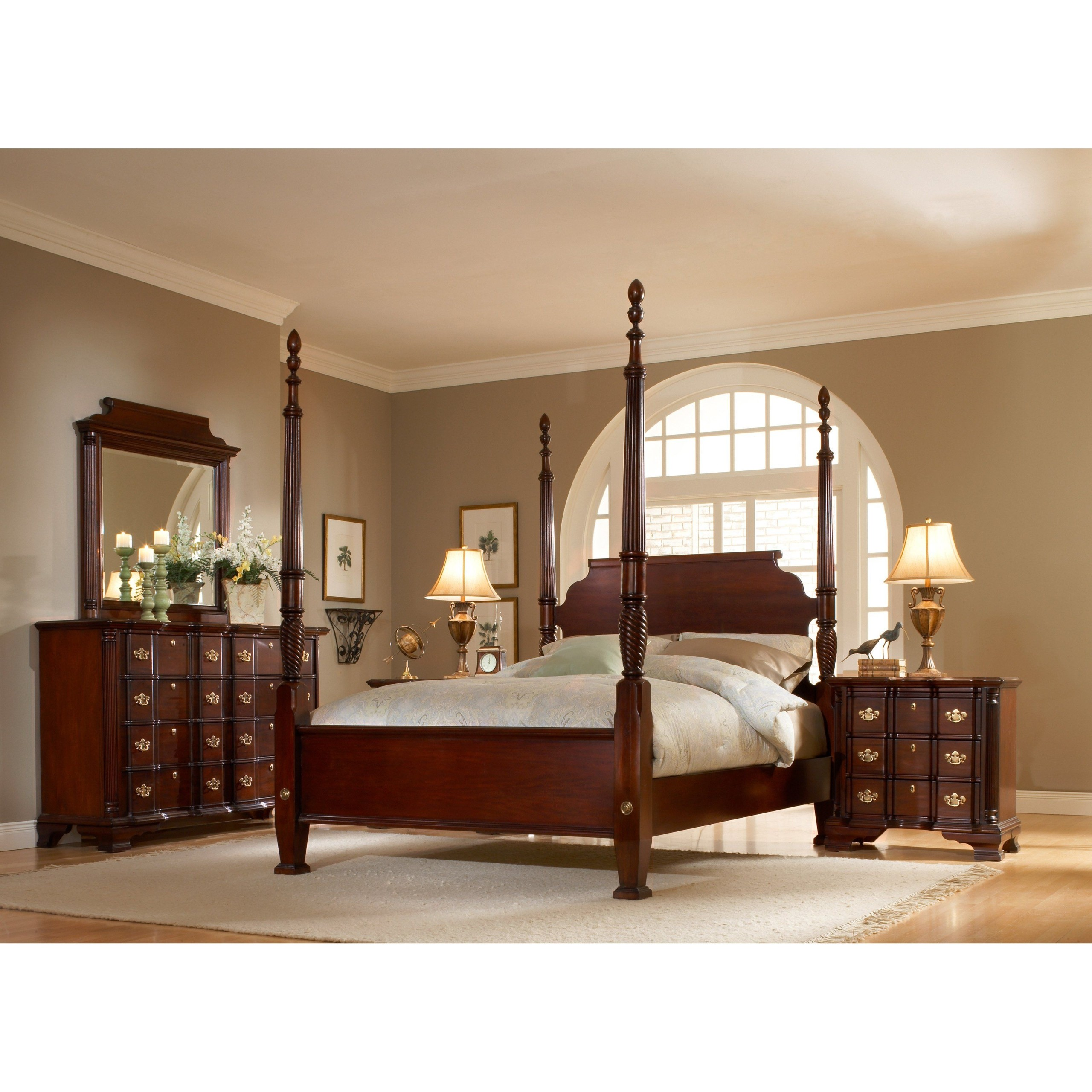 King size four poster bed frame 1  sc 1 st  Foter & King Size Four Poster Bed - Ideas on Foter