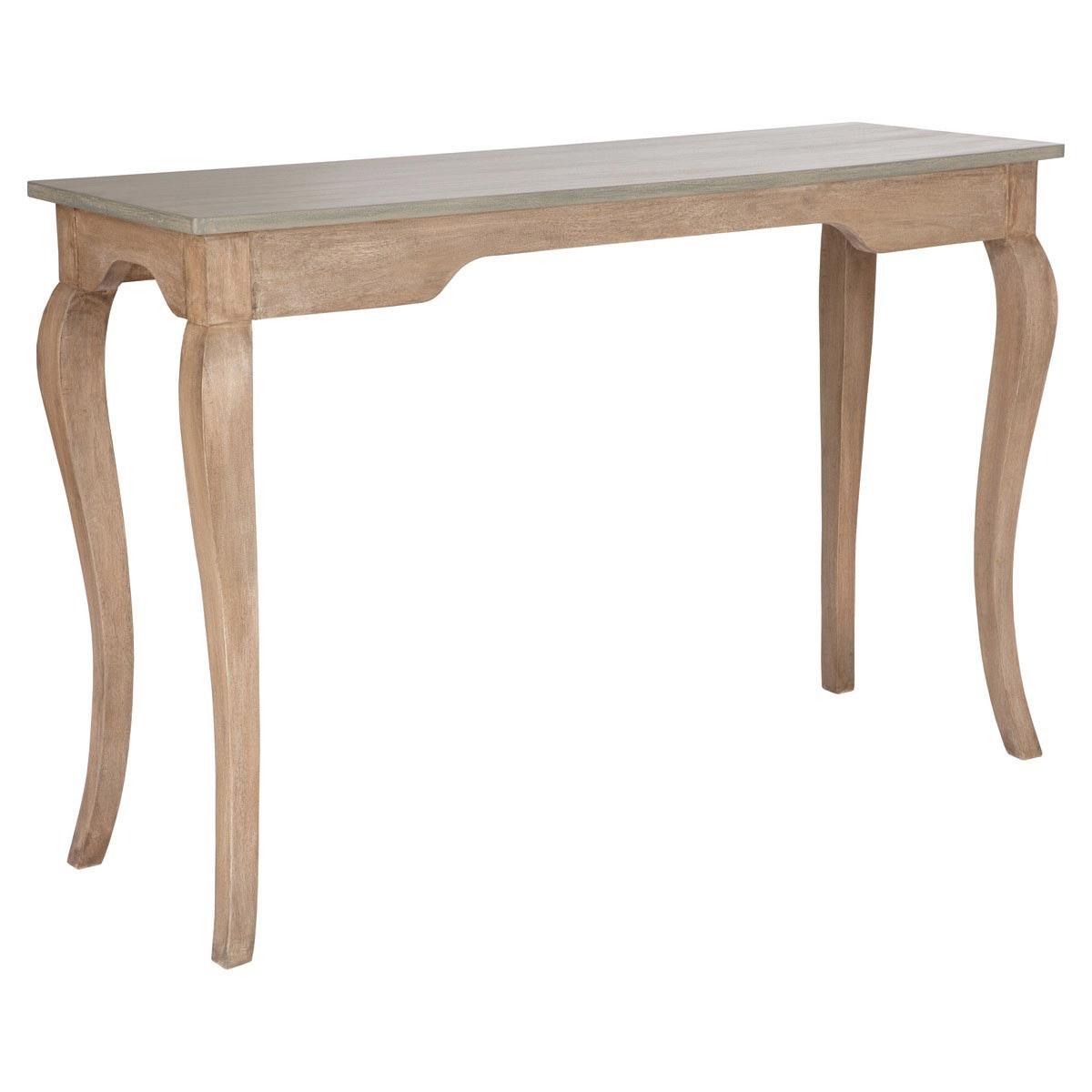 Light Oak Console Table 2