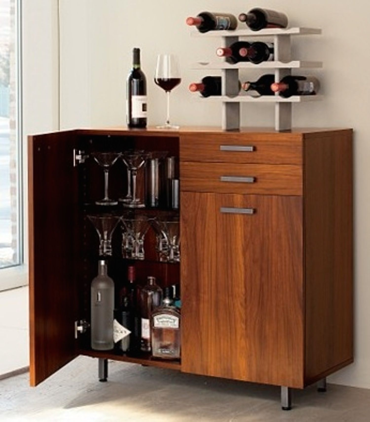 Living Room Bar Cabinet 1