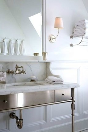 Metal console sink 1