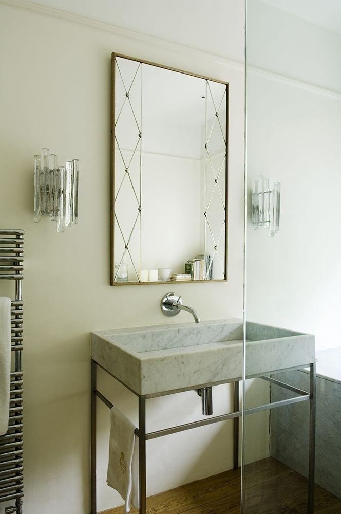 Metal Pedestal Sink Base