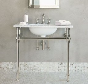 Chrome Console Sink Foter