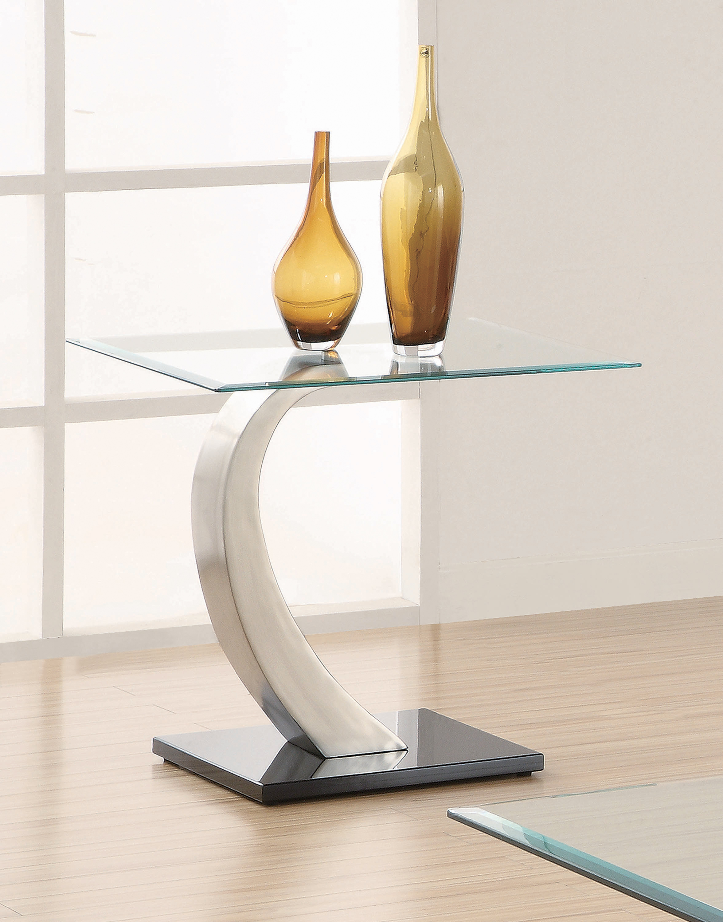Good Modern Console Table With Glass Top