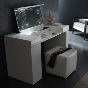 Modern Makeup Vanity Table - Foter