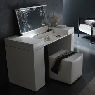 Modern Makeup Vanity Table Foter