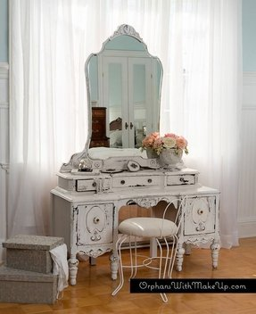 Old fashioned vanity