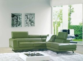 Enjoyable Green Sectional Sofa With Chaise Ideas On Foter Lamtechconsult Wood Chair Design Ideas Lamtechconsultcom