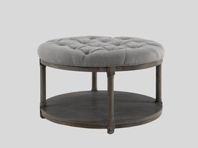 Ottoman coffee table round