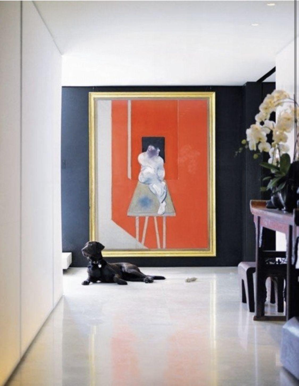 Oversized Framed Art Foter