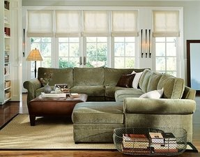 Pearce 4 Piece Chaise Sectional With Wedge 2