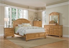 Pine bedroom furniture sets 1