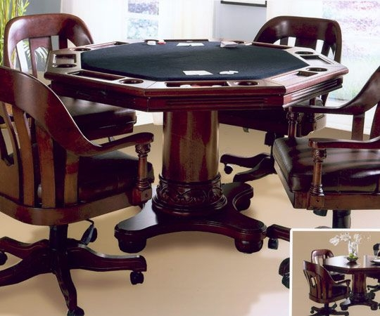 Poker game table sets & Poker Table With Chairs - Foter