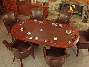 Poker Table With Chairs - Foter