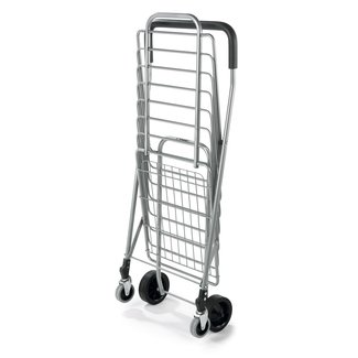 Polder STO-3022-92 Superlight Shopping Cart, Aluminum