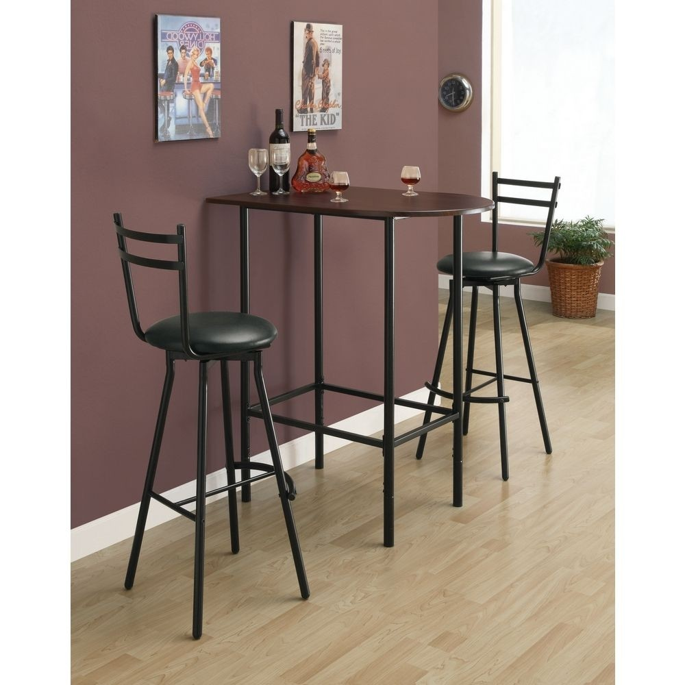 Beau Pub Table Chair Bar High Bistro Small Kitchen Dining Room