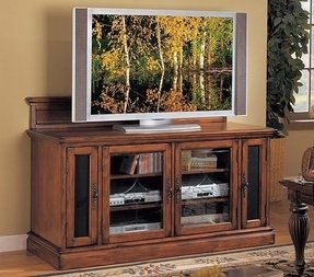 Queen anne tv stand