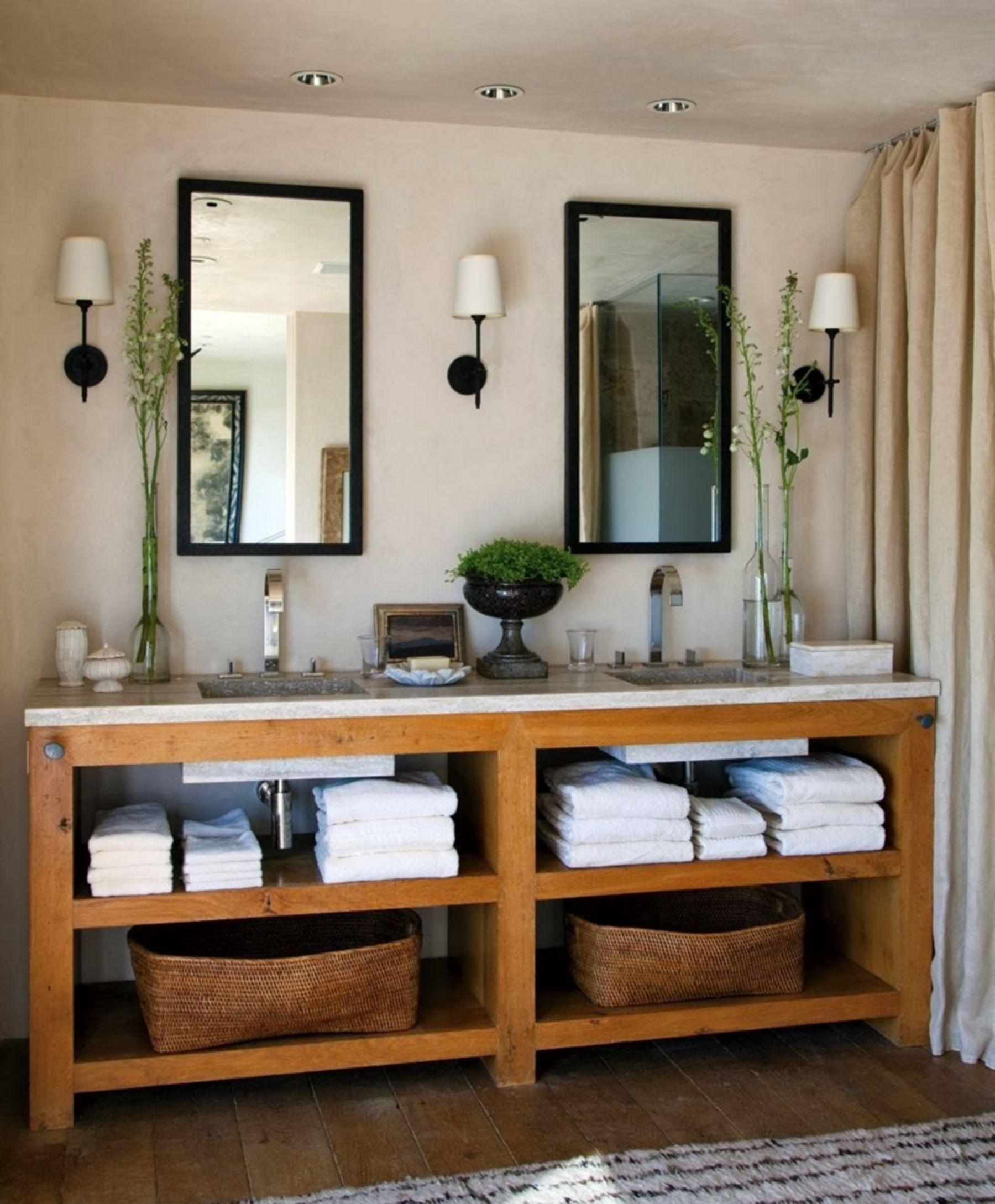 Beautiful Reclaimed Barn Wood Bathroom Vanity