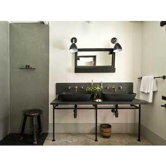 Restoration hardware console sink