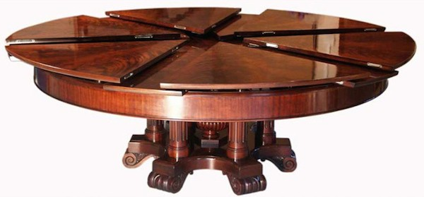 Delicieux Round Dining Room Table Seats 12