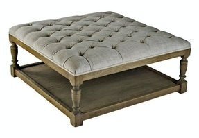 Round Tufted Ottoman Coffee Table Foter