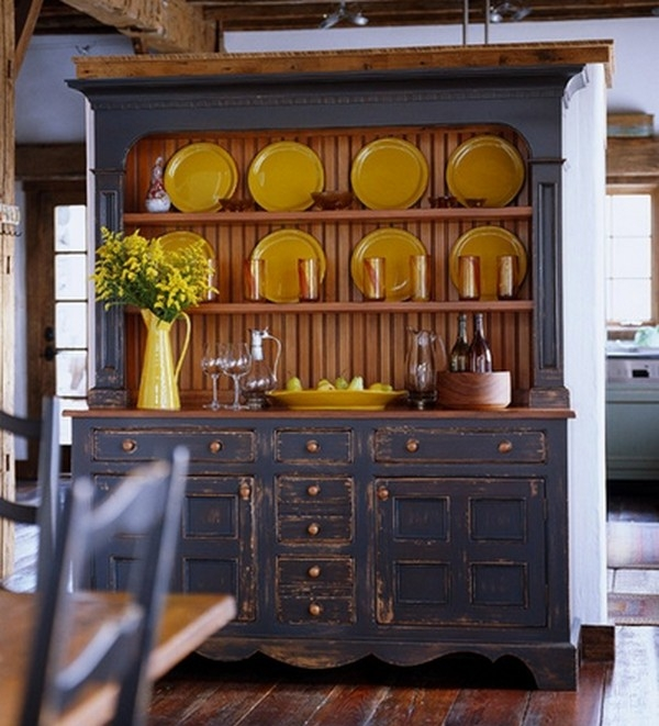 Rustic China Cabinets