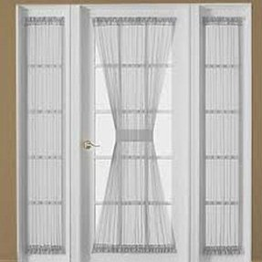 French Door Curtain Panels : Single curtain panel foter
