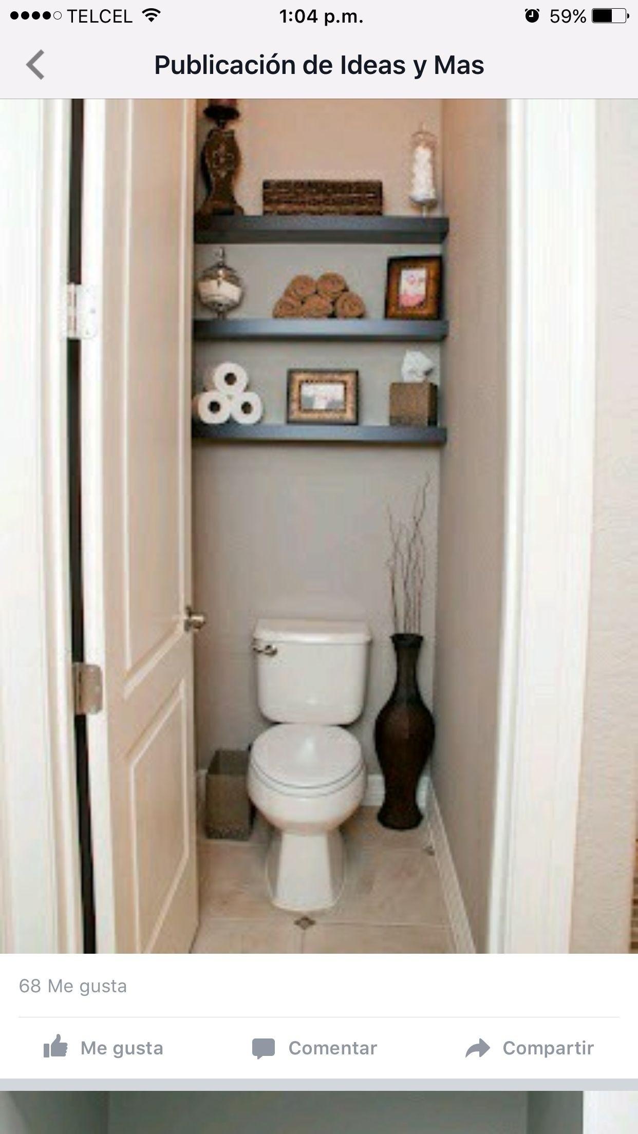 Bon Shelf Behind Toilet